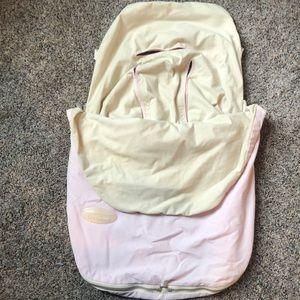 Pink Bundleme Car Seat Cover